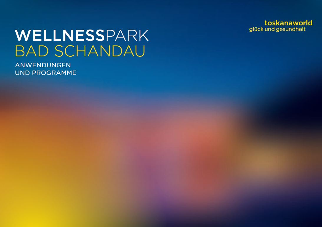 Wellnessparkbroschüre Therme Bad Schandau
