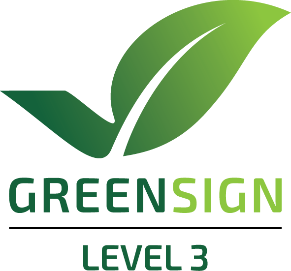Logo Green Sign