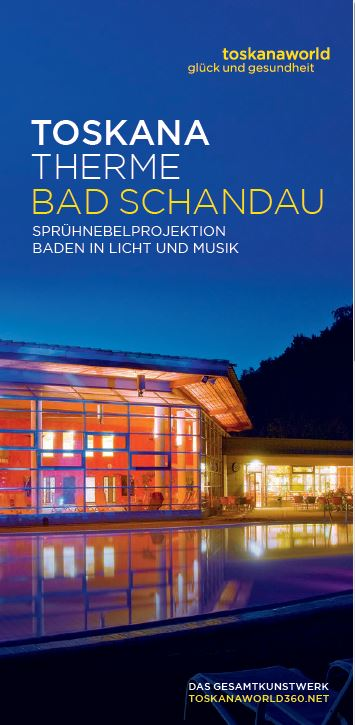 Flyer Toskana Therme Bad Schandau