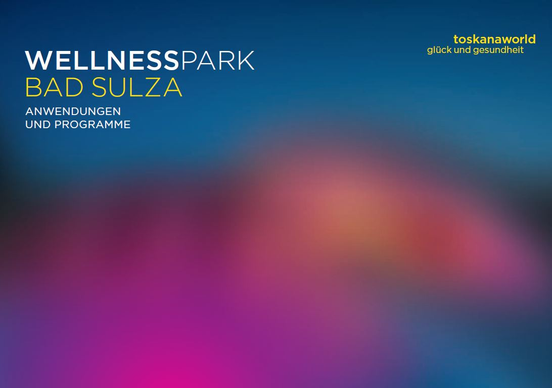 Wellnessparkbroschüre Bad Sulza