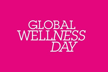 We say yes as well! Auch wir sagen 'Ja' zum Global Wellness Day!