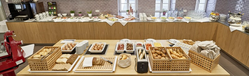Our rich buffet breakfast offers everything you need in the morning. A relaxed atmosphere guarantees for a perfect start to the day.