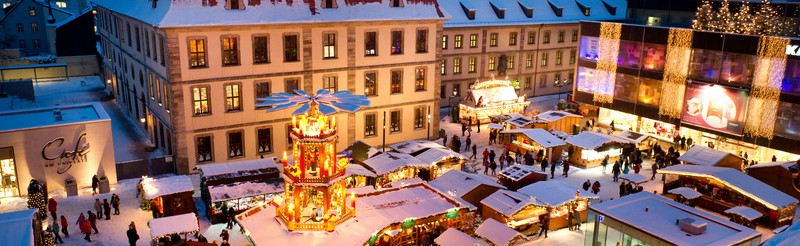 Christmas market in Fulda