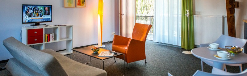 Modern in design, the holiday flats of our Hotel resort offer ideal conditions for a good night's rest in beautiful Auerstedt.